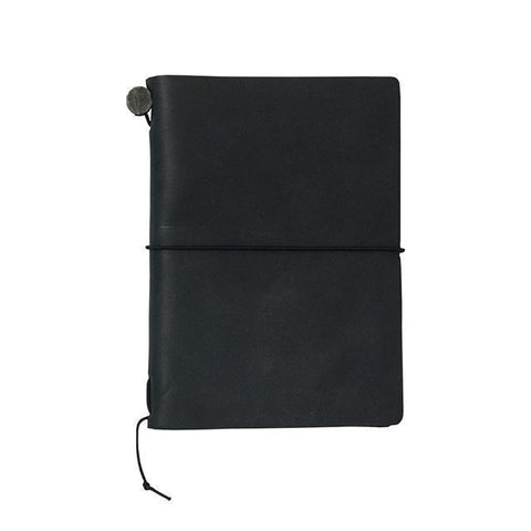 Image of Midori Traveller's Notebook Passport Size (Black) Stationary Tokyo Direct