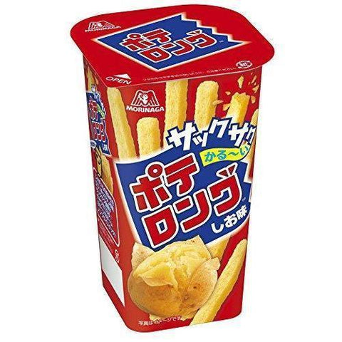 Image of Morinaga Potato Long 10pcs 森永 ポテロング 10個 Snack Tokyo Direct
