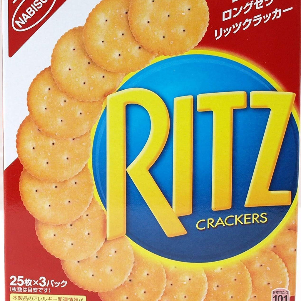 Nabisco RITZ Cracker 4 boxes ナビスコ リッツクラッカー 4箱 Sweets Tokyo Direct