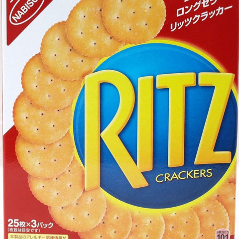 Image of Nabisco RITZ Cracker 4 boxes ナビスコ リッツクラッカー 4箱 Sweets Tokyo Direct