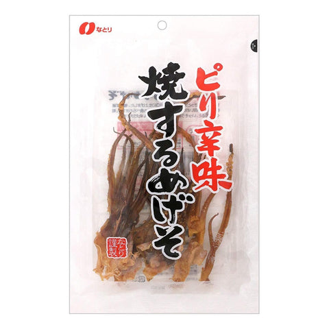 Image of Natori Surume Ika Squid Spicy (54g x 5pack) なとり ピリ辛味焼するめげそ 54g×5袋 Food Tokyo Direct