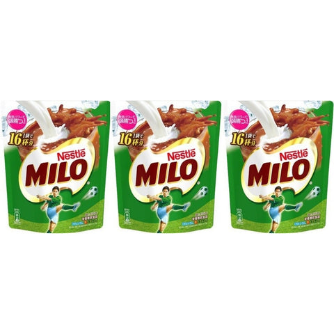 Nestle Milo (240g x 3pcs) ネスレ ミロ 240g×3個 Matcha Tokyo Direct