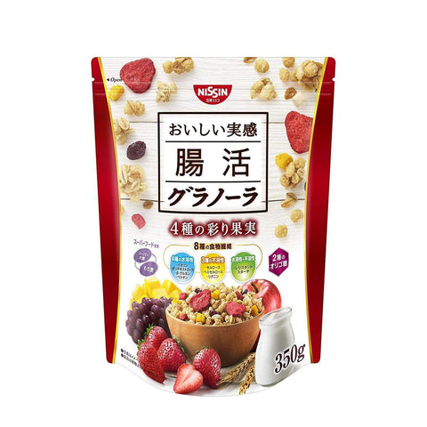 Image of Nissin Chokatsu Gut Health Granola 日清シスコ 腸活グラノーラ Matcha Tokyo Direct