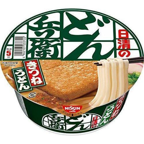 Image of Nissin Donbei Kitsune Udon 12pcs 日清 どん兵衛 きつねうどん(東) 12個 Food Tokyo Direct