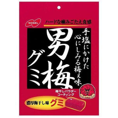 Image of Nobel Otoko-Ume Gummy 6pcs ノーベル 男梅グミ 6個 Sweets Tokyo Direct