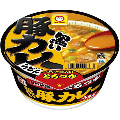 Pork Curry Udon 12pcs 黒い豚カレーうどん 12個 Food Tokyo Direct