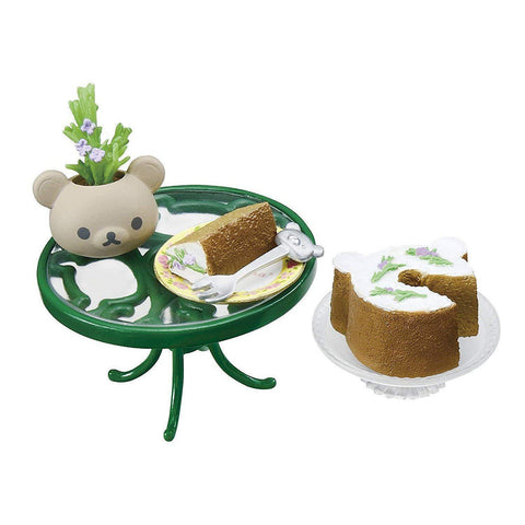 Rilakkuma Shokugan (British Tea Time) リラックマ 憧れのBritish Tea Time BOX商品 1BOX = 8個入 Toy Tokyo Direct