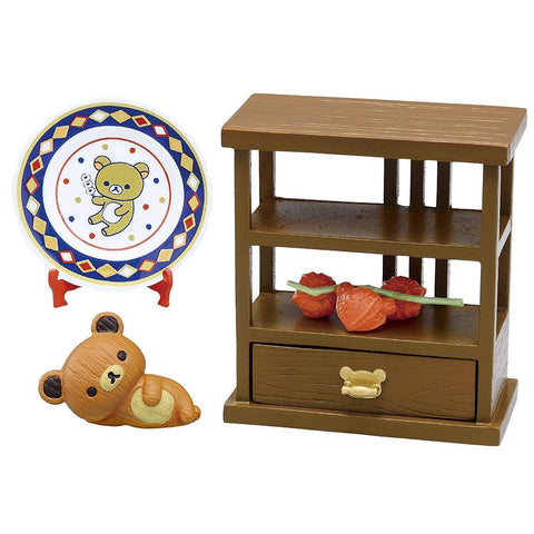 Rilakkuma Shokugan (Japanese Old House Cafe) リラックマ 古民家Cafeへようこそ! BOX商品 1BOX=8個入 Toy Tokyo Direct
