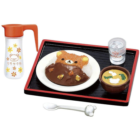 Rilakkuma Shokugan Small Toy (Showa Retro Diner) リラックマ 昭和食堂 BOX商品 1BOX=8個入 Toy Tokyo Direct
