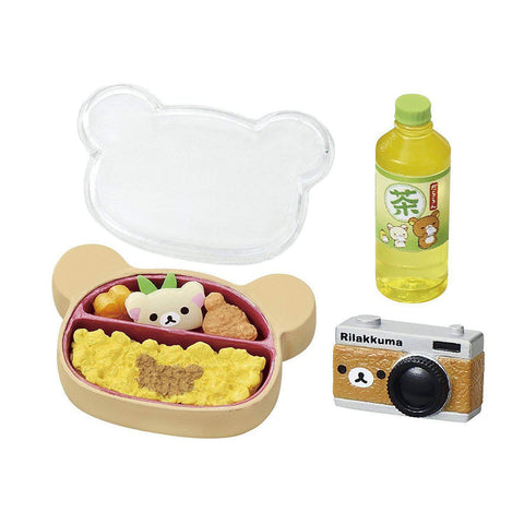 Image of Rillakuma Shokugan Small Toy (Onsen) リラックマ やすらぎ温泉 BOX商品 1BOX=8個入 Toy Tokyo Direct