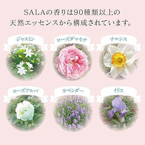 Image of SALA Blue Fresh Smooth Shampoo (Mild White Flower Savon Scent) サラ シャンプー 軽やかさらさら サラの香り Life Tokyo Direct