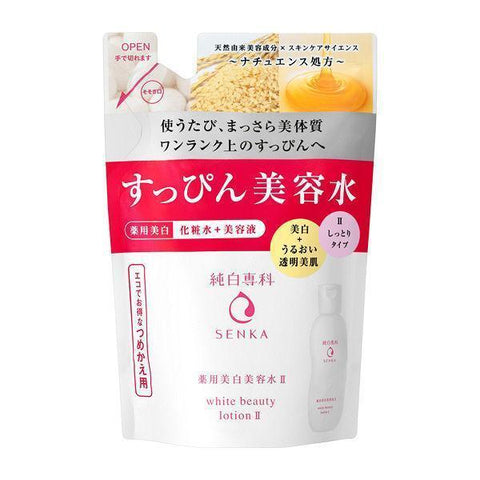 Image of Senka White Beauty Lotion 純白専科すっぴん美容水 Life Refill II Tokyo Direct