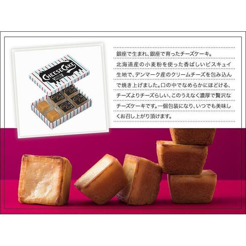 SHISEIDO PARLOUR Cheese Cake Tokyo Ginza 資生堂パーラー チーズケーキSS 東京銀座 Sweets 3 Tokyo Direct