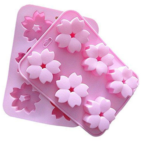 Silicone Mould Cherry Blossom Sakura (Large)【Ever garden】 桜 花 シリコンモールド Tool Tokyo Direct