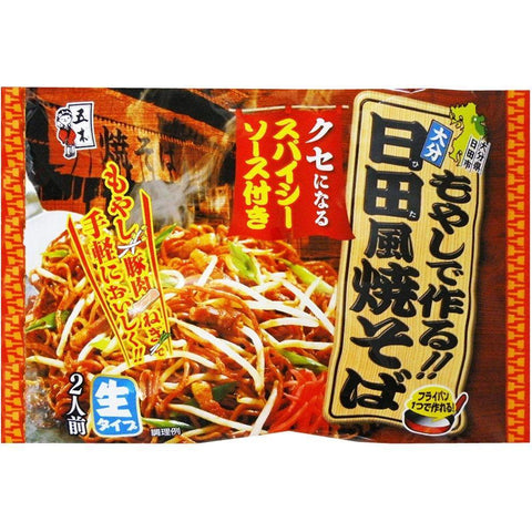 Yakisoba Itsuki Hita Style with Spicy Sauce 6pcs 五木 日田風焼そば Food Tokyo Direct