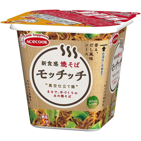 Yakisoba Mocchicchi Acecook 12pcs エースコック 焼そばモッチッチ Food Tokyo Direct