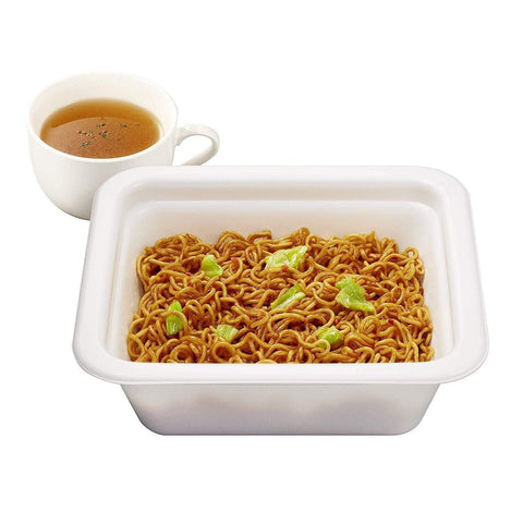 Yakisoba Nissin with Chicken Soup 12pcs 日清ソース焼そばカップチキンスープ付き Food Tokyo Direct