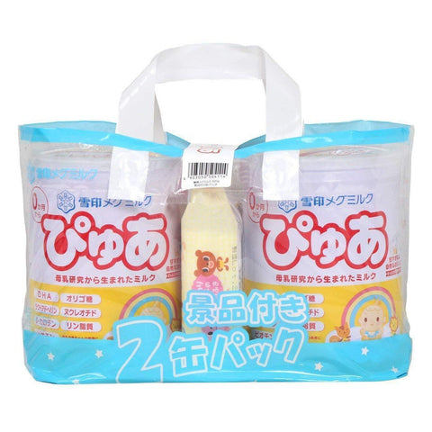 Yukijirishi Megmilk Pure Baby Milk Powder 820g x 4pcs 雪印メグミルクぴゅあ 820g×4 Life Tokyo Direct