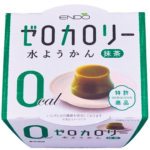 Image of Zero Calories Water Yokan (Matcha) 6pcs Nゼロカロリー水ようかん抹茶 6個 Sweets Tokyo Direct