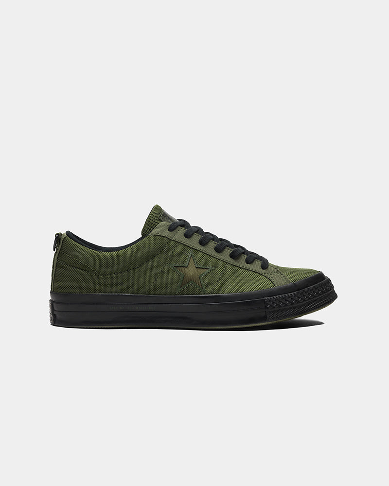 Converse x Carhartt WIP One Star in Herbal and Medium Olive