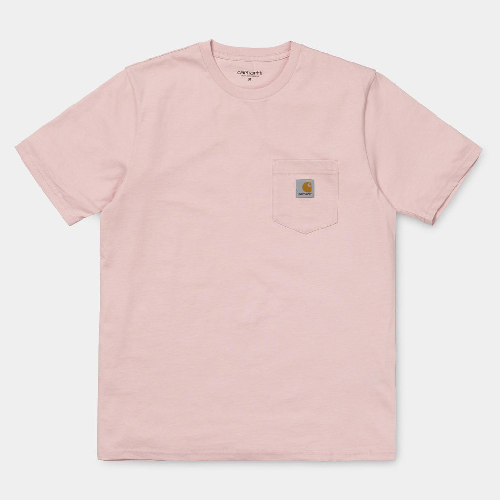Carhartt WIP Pocket T-Shirt in Sandy Rose