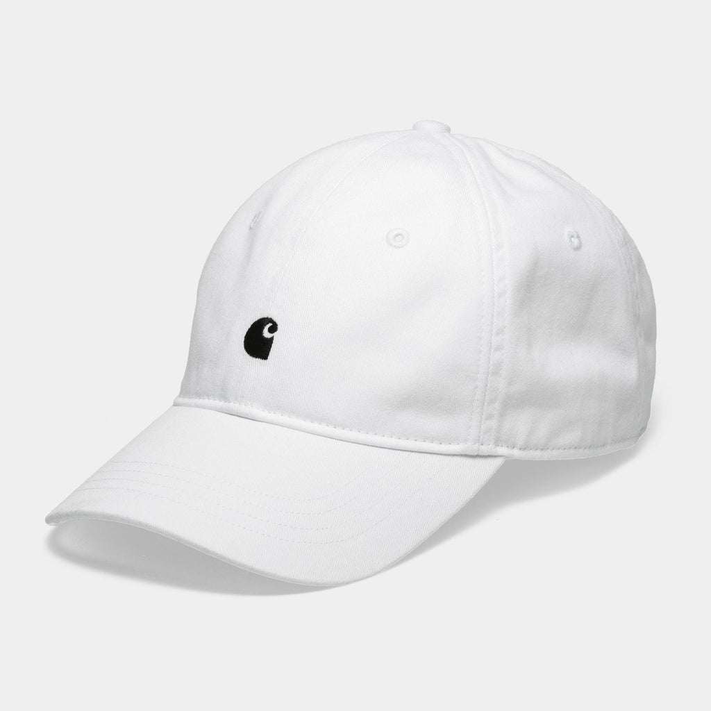 Carhartt WIP Madison Logo Cap in White