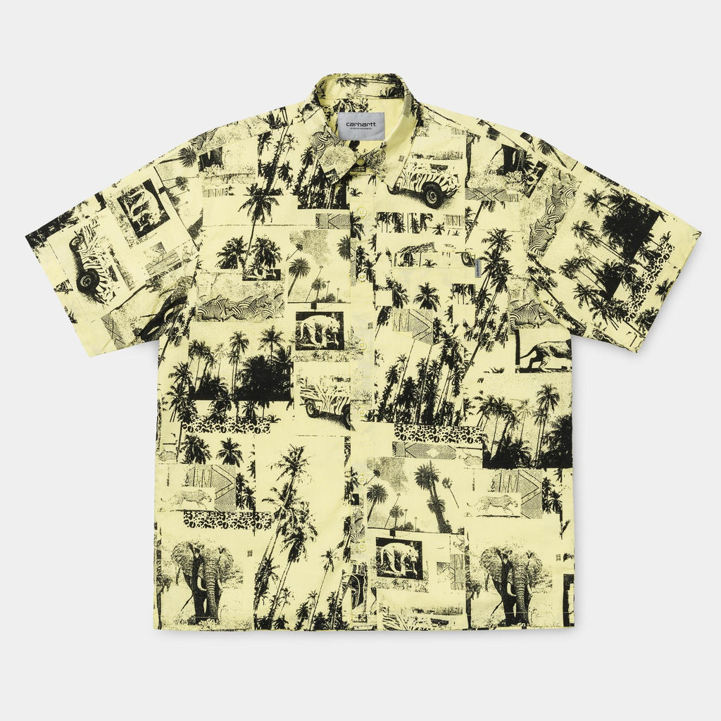 Carhartt WIP Safari Short Sleeve Shirt in Spot