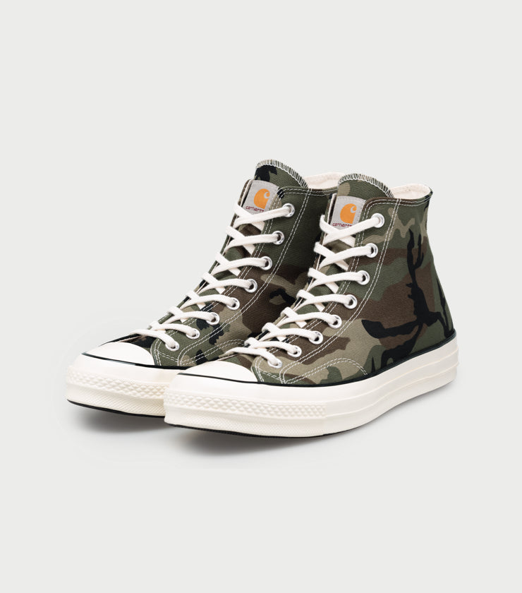 Product Image of Carhartt WIP x Converse Chuck 70 High in Olive Camo