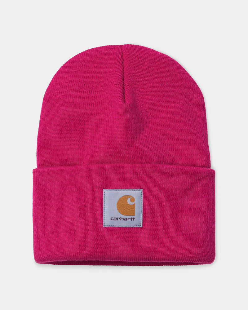 칼하트WIP Carhartt Acrylic Watch Hat,Ruby Pink