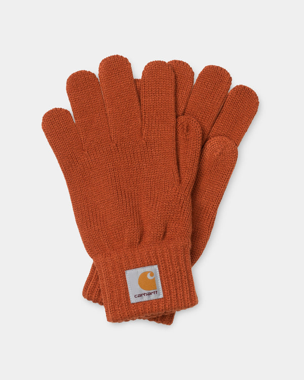 칼하트WIP 장갑 Carhartt Watch Gloves,Cinnamon