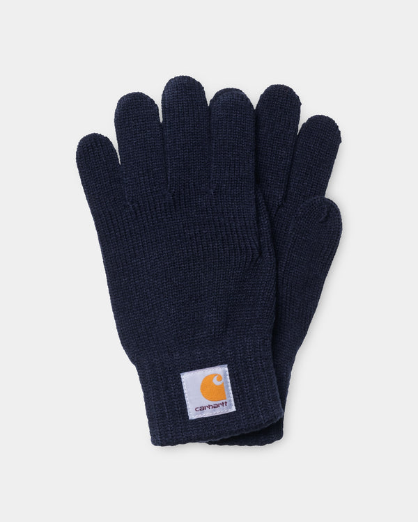 칼하트WIP 장갑 Carhartt Watch Gloves,Dark Navy