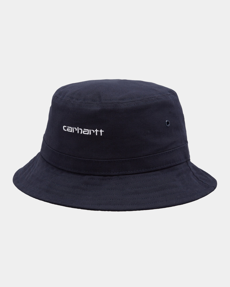 칼하트WIP 버킷햇 Carhartt Script Bucket Hat,Dark Navy
