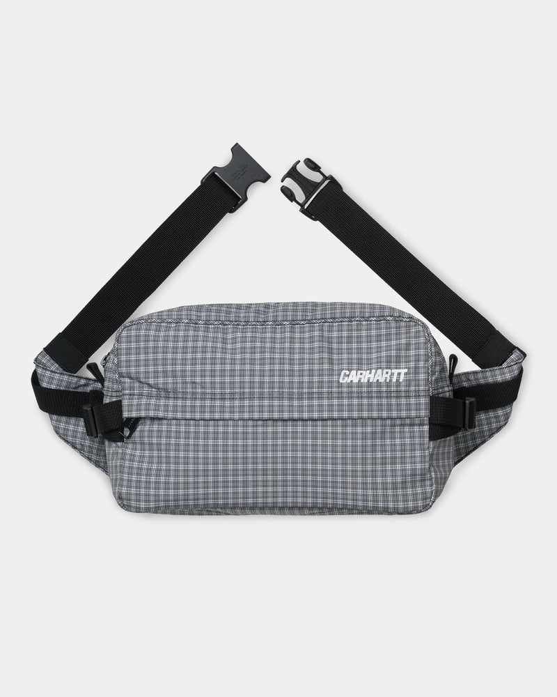 칼하트WIP 벨트백 Carhartt Alistair Check Hip Bag,Shiver