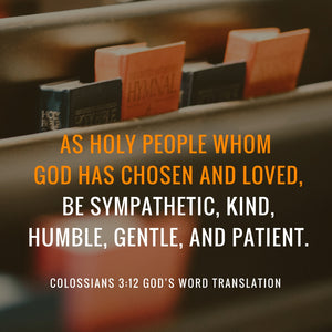 Verses We Love – a Comparison of Colossians 3:12