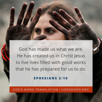 Comparing Ephesians 2:10