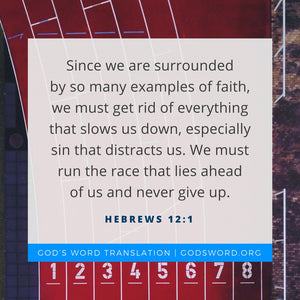 Verses We Love – a Comparison of Hebrews 12:1