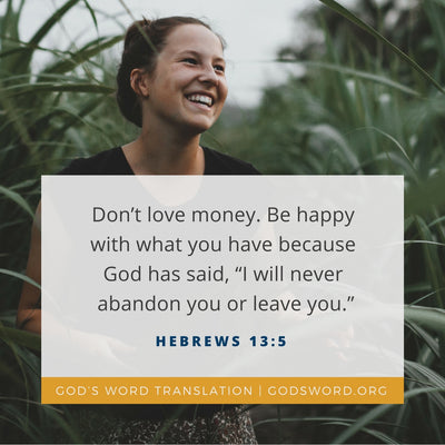 Five Bible Passages About Contentment