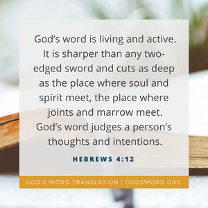 Verses We Love – a Comparison of Hebrews 4:12