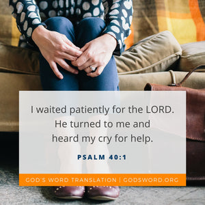 God's Promises Enable Your Patience