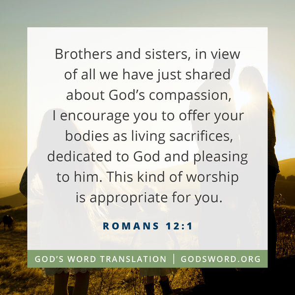 Verses We Love – a Comparison of Romans 12:1
