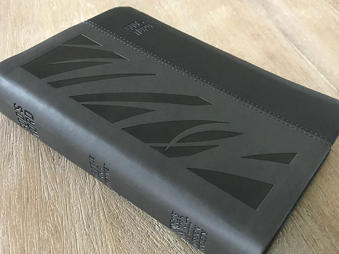 GOD'S WORD Deluxe Large Print Bible (Gray)