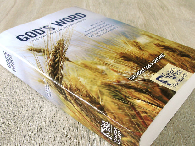 GOD'S WORD Large-Print Bible: Paperback (Case of 20 Copies)