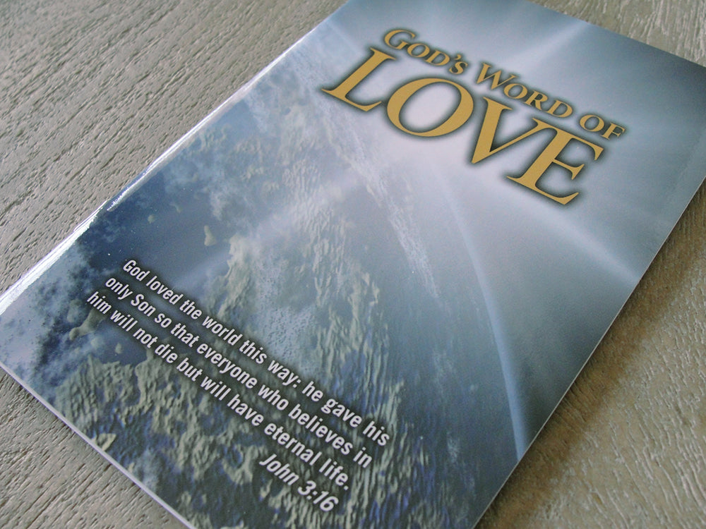 GOD'S WORD of Love (Case of 100 Copies)