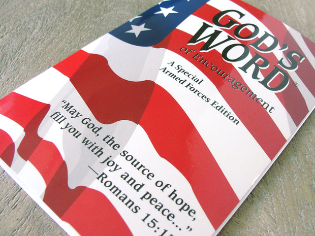 GOD'S WORD of Encouragement: A Special Armed Forces Edition (Case of 100 Copies)