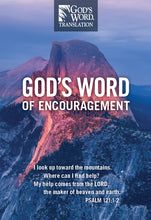 GOD'S WORD of Encouragement (Case of 100 Copies)