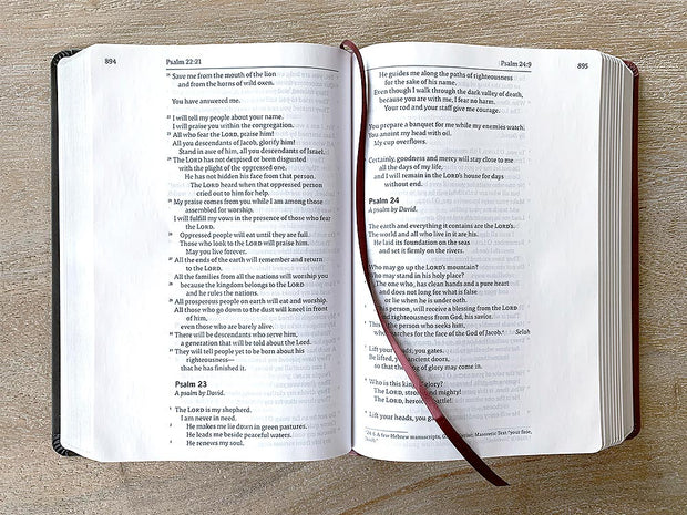 interior GOD'S WORD Wide-Margin Bible