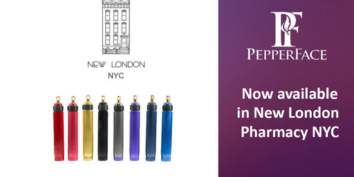 PepperFace Is Now Available at New London Pharmacy in New York