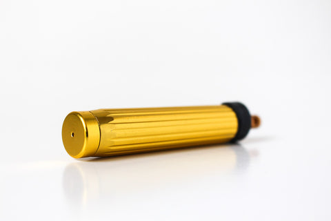 Gold Pepper Spray Keychain