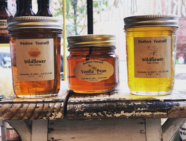 Beehive Yourself Wildflower Raw Honey