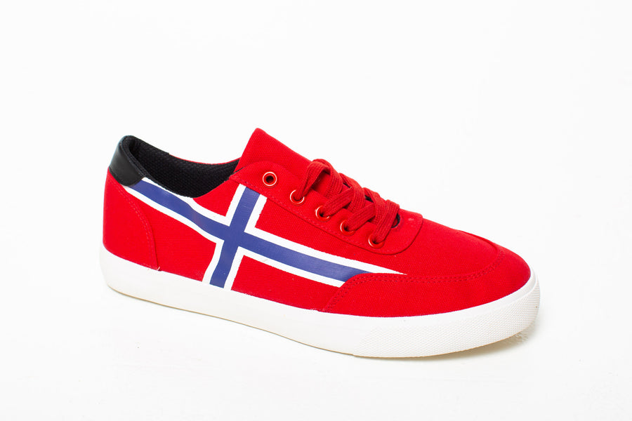 3bbe96e3 Sneakers Lav Red Norway